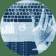 depositphotos 196947136 stock photo investor analyzing stock market report