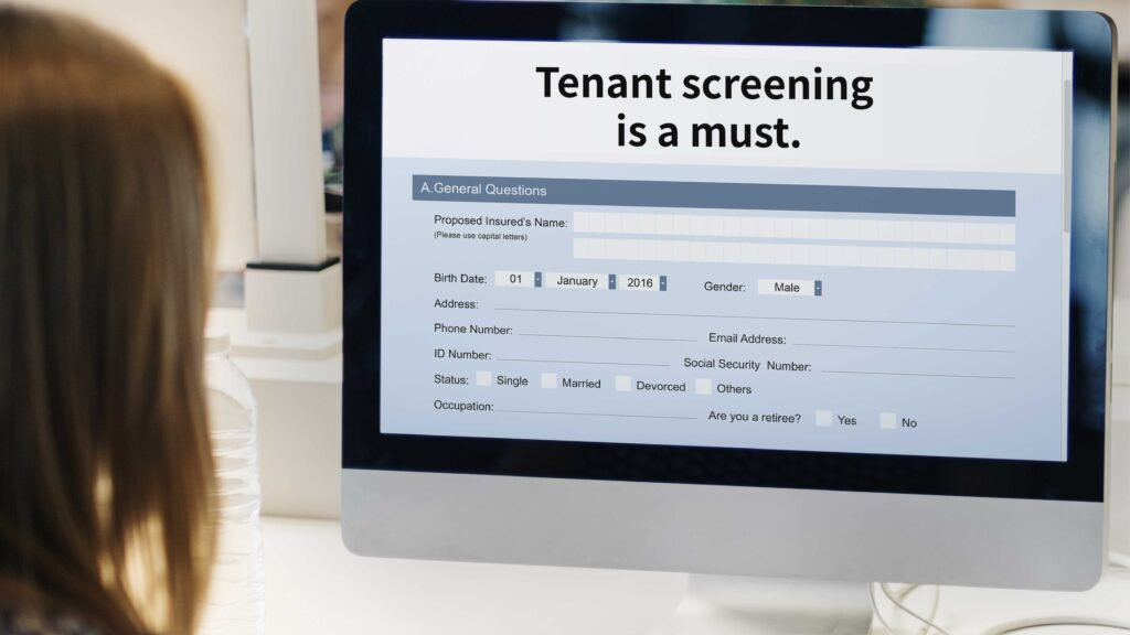 Tenant screening is a must