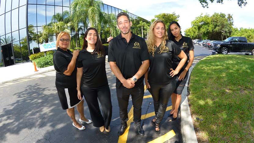 luxury property care team