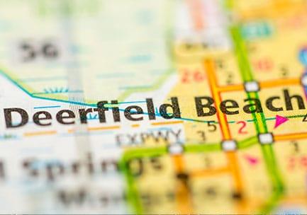 Deerfield Beach map
