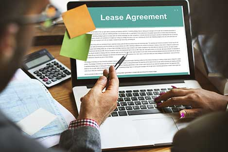 managing leasing agreement to move in new tenant