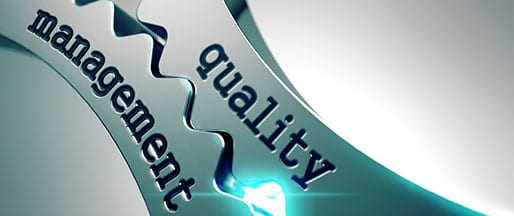 QUALITY MANAGEMENT YOU CAN COUNT ON
