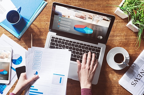 ONLINE FINANCIAL REPORTING