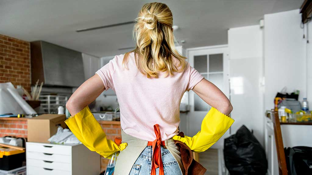 2 Clean Your Entire Home