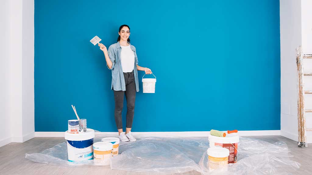 4 Odor Absorbing Paint