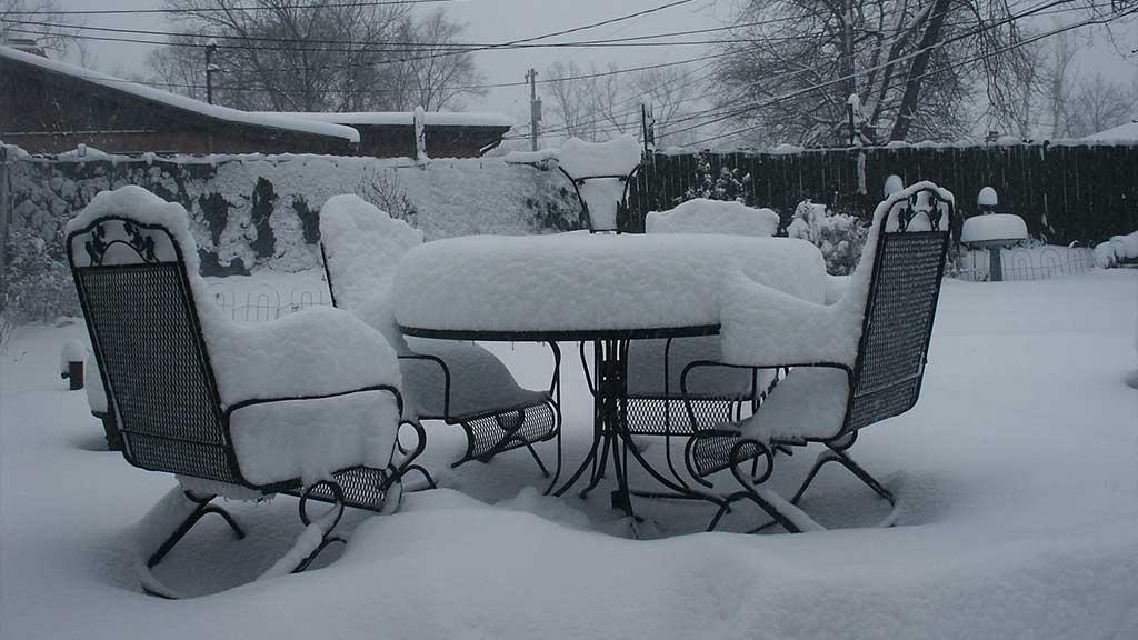 Bring Outdoor Furniture Indoors