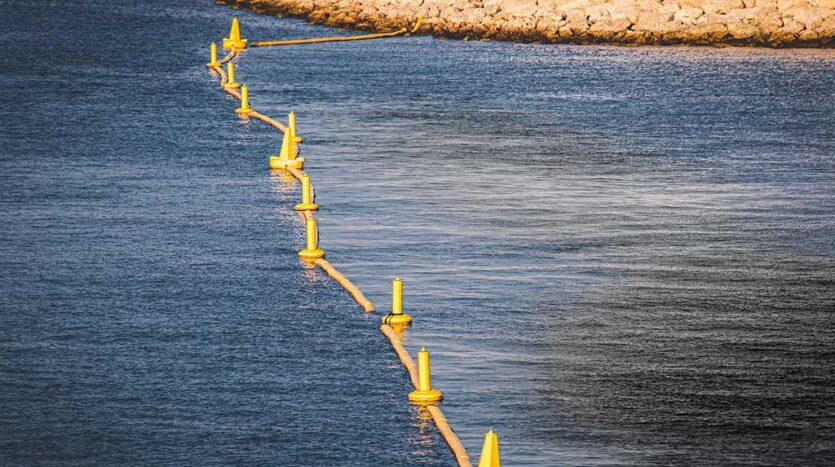 Install Turbidity Barriers