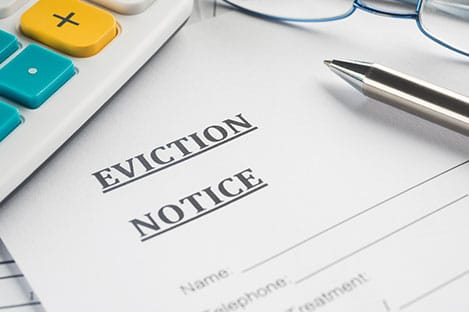 experienced Weston property managers to handle eviction