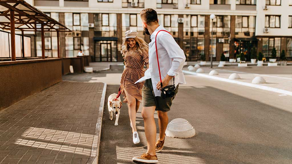 walk-friendly location