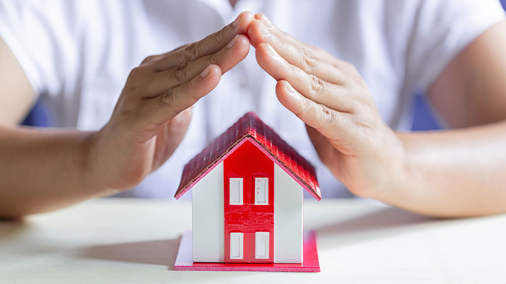 Ensure that the property is secured