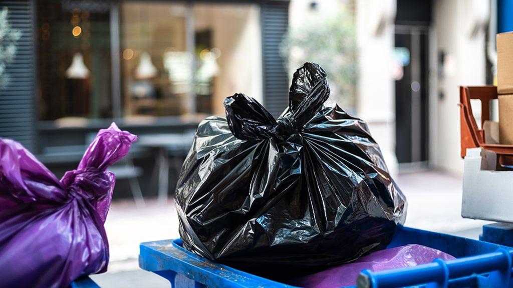 Supply Trash Bins