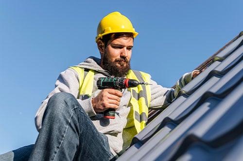 property management concierge service to fix roof damage