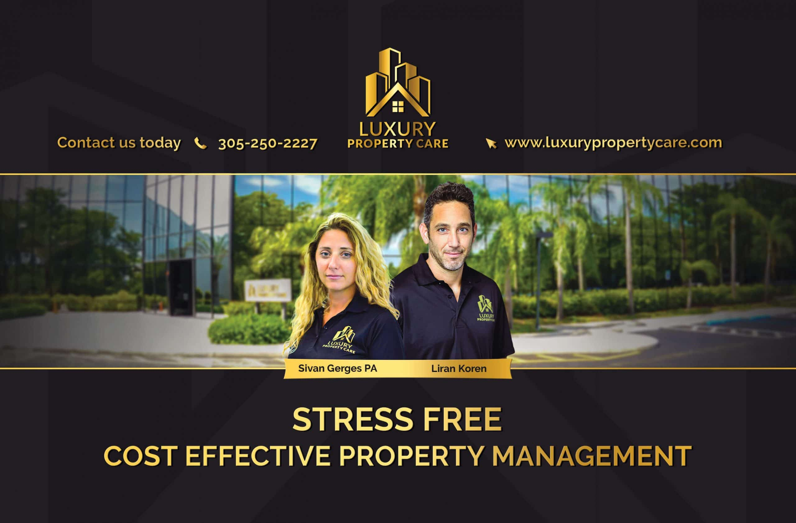 Luxury property care; Expert commercial property managers
