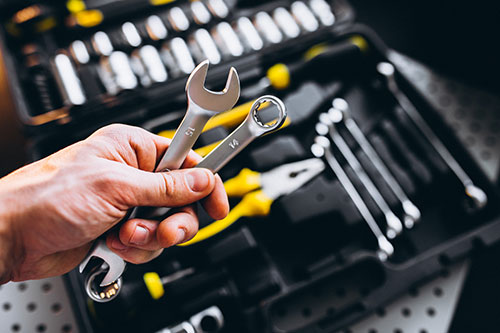 multi-unit property maintenance tools for service provider