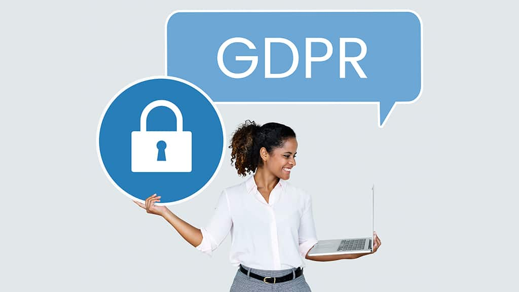 What types of data does the GDPR protect?