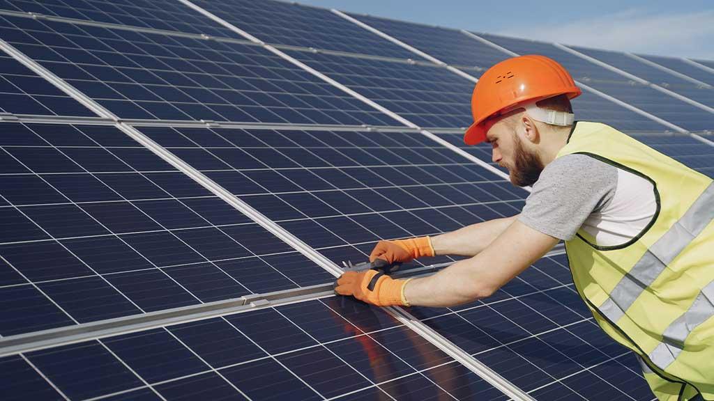 Installation of energy-efficient equipment