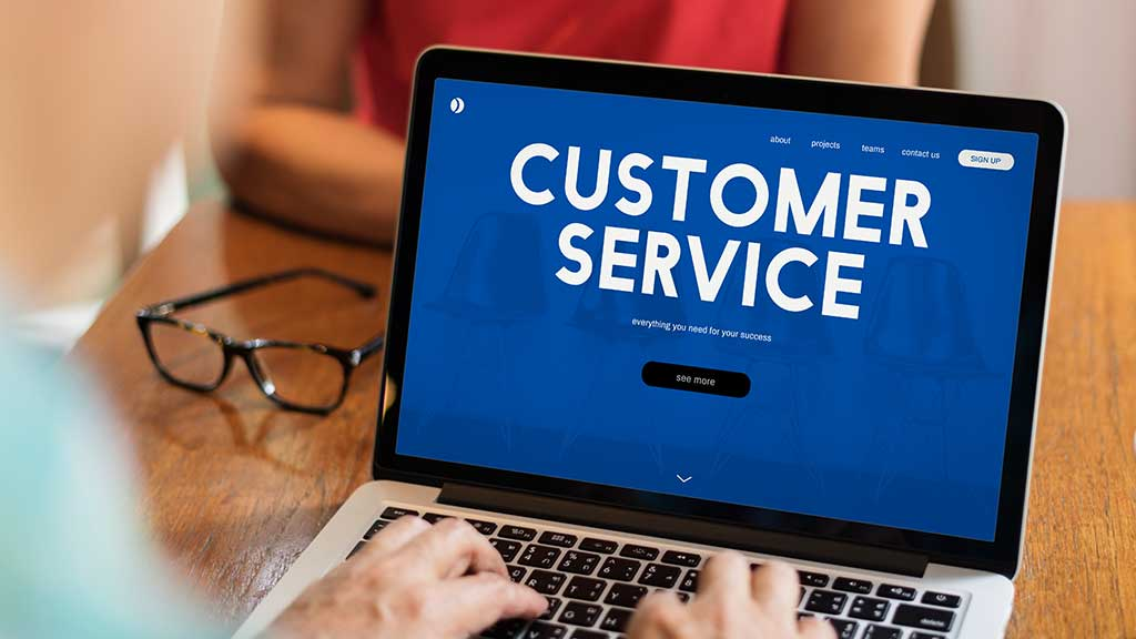 Look for good customer service