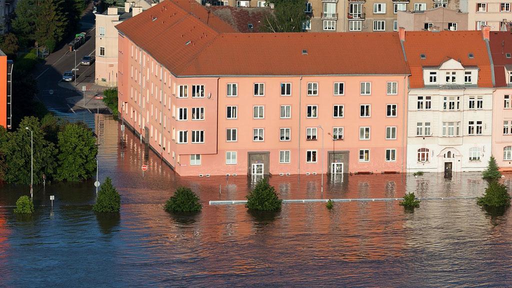 Home insurance covers flood damage