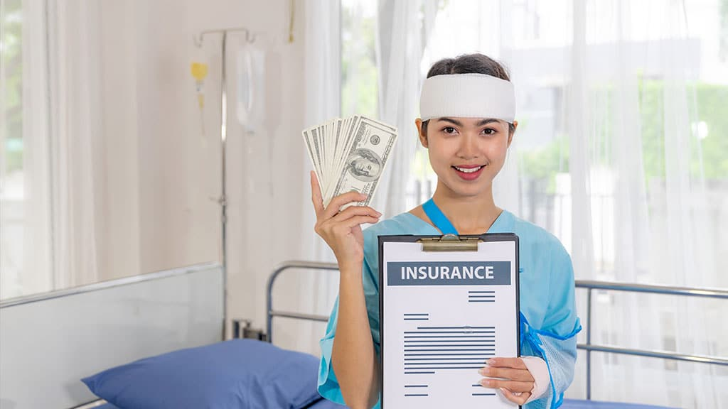Home insurance covers your medical expenses in case you are injured