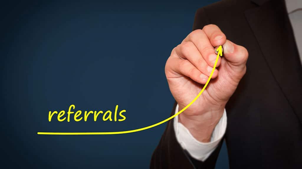 Offer referral rewards